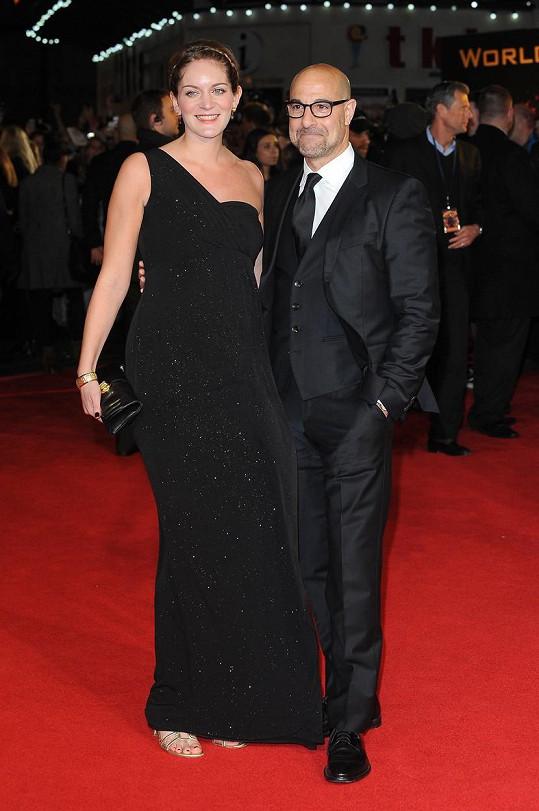 Stanley Tucci s manželkou Felicity Blunt