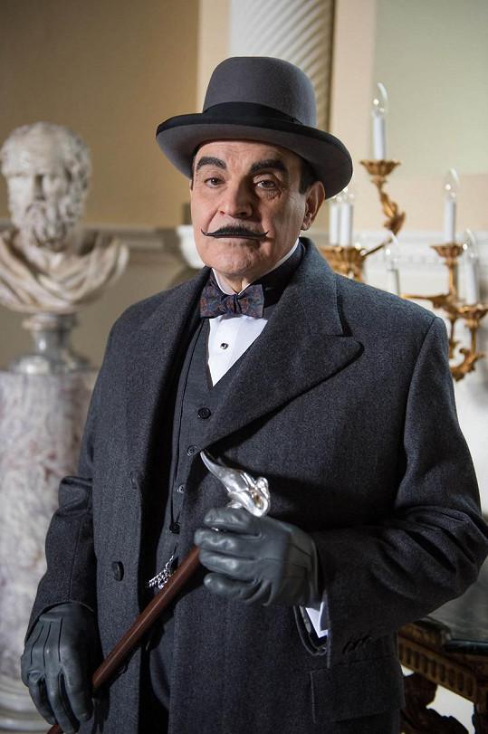 Jako detektiv Hercule Poirot
