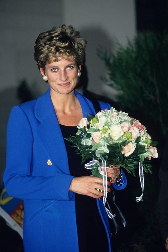 Diana byla ztělesněním elegance a stylu.