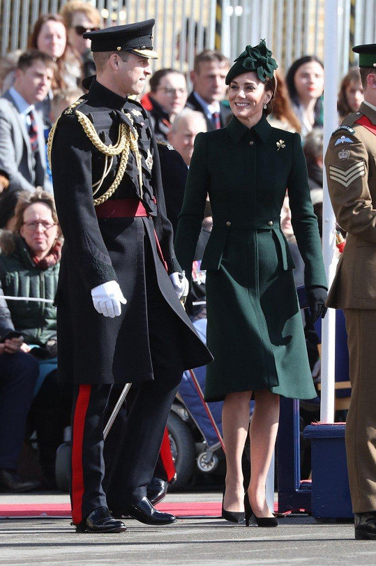 Kate a William na oslavách Dne svatého Patrika