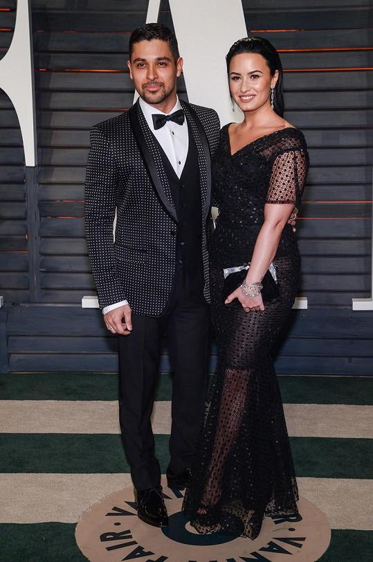Demi Lovato a Wilmer Valderrama