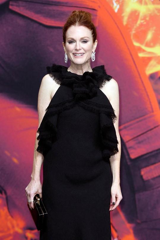 Julianne Moore je uznávanou hollywoodskou herečkou.