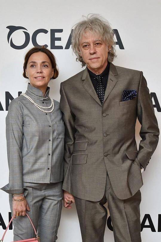 Bob Geldof si vzal dlouholetou partnerku Jeanne Marine.