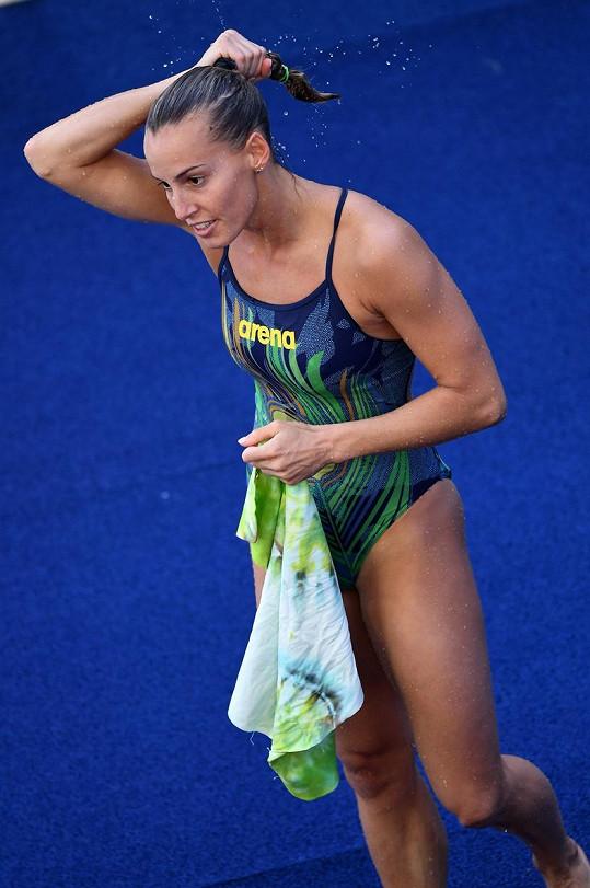 Tania Cagnotto získala na olympiádě v Riu dvě medaile pro Itálii.