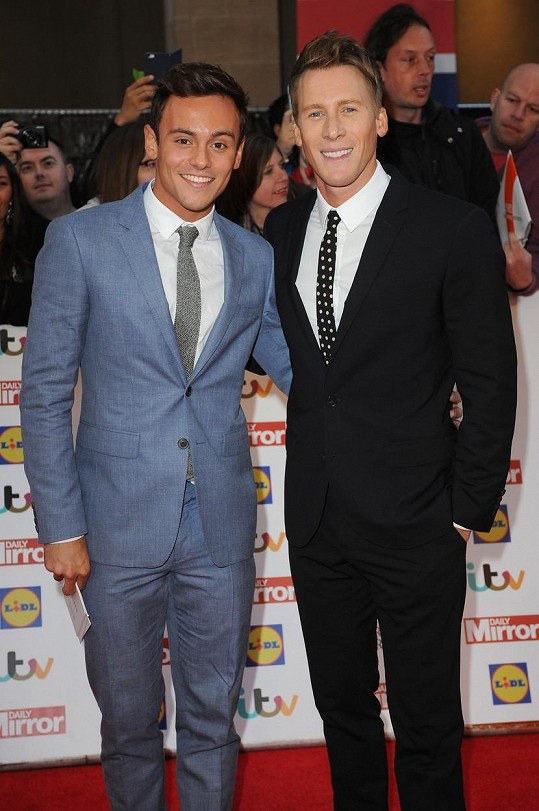 Tom Daley a Dustin Lance Black