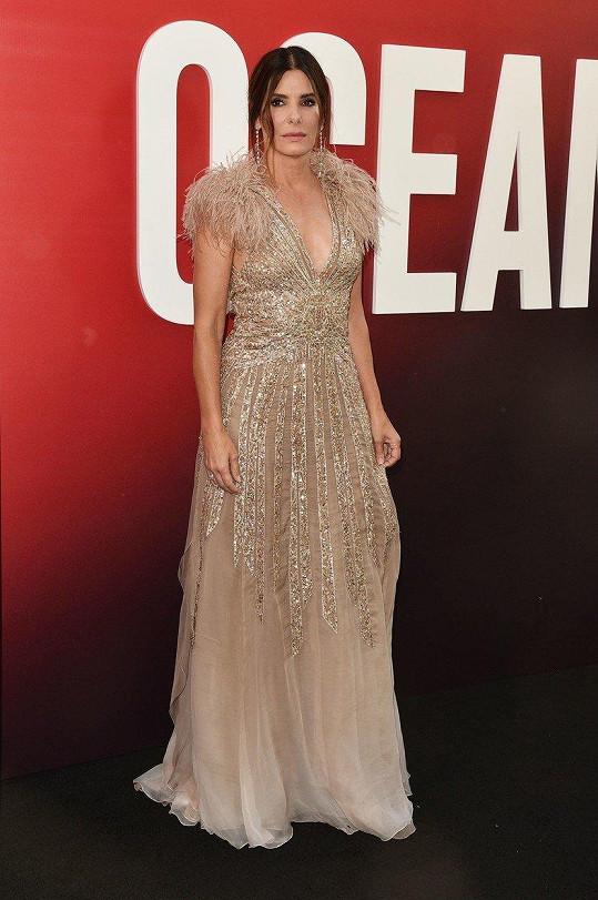 Sandra Bullock je hlavní hvězdou filmu.
