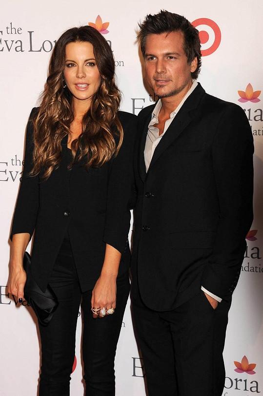 Kate s exmanželem Lenem Wisemanem
