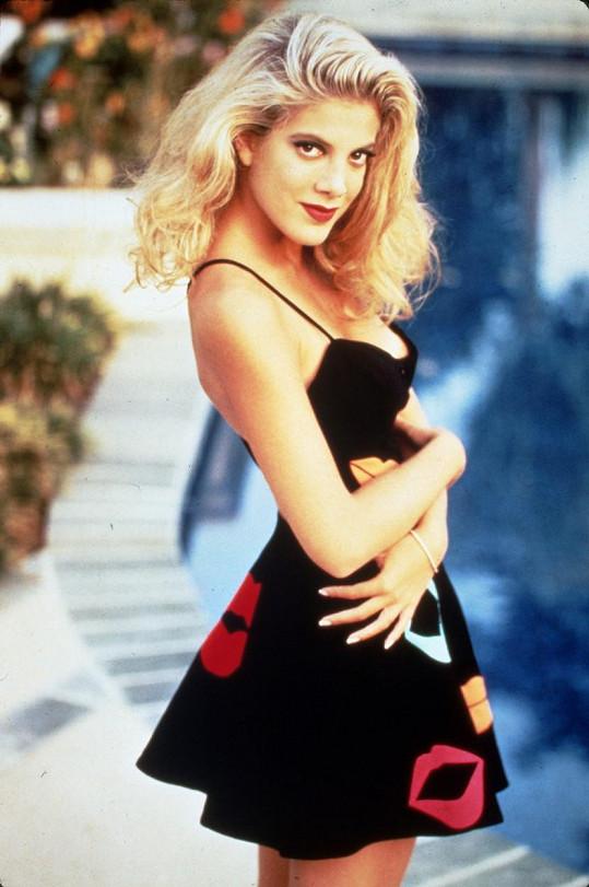 Takhle vypadala v seriálu Beverly Hills 90210