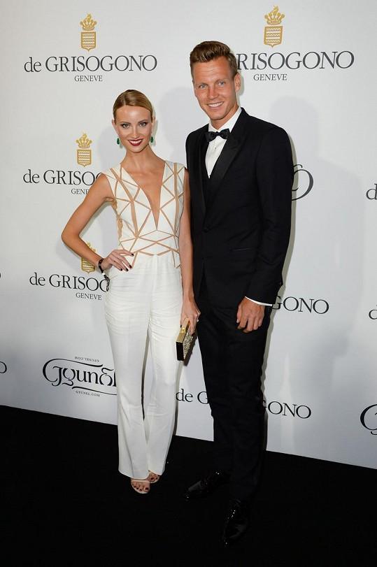 Společně navštívili také filmový festival ve francouzském Cannes.