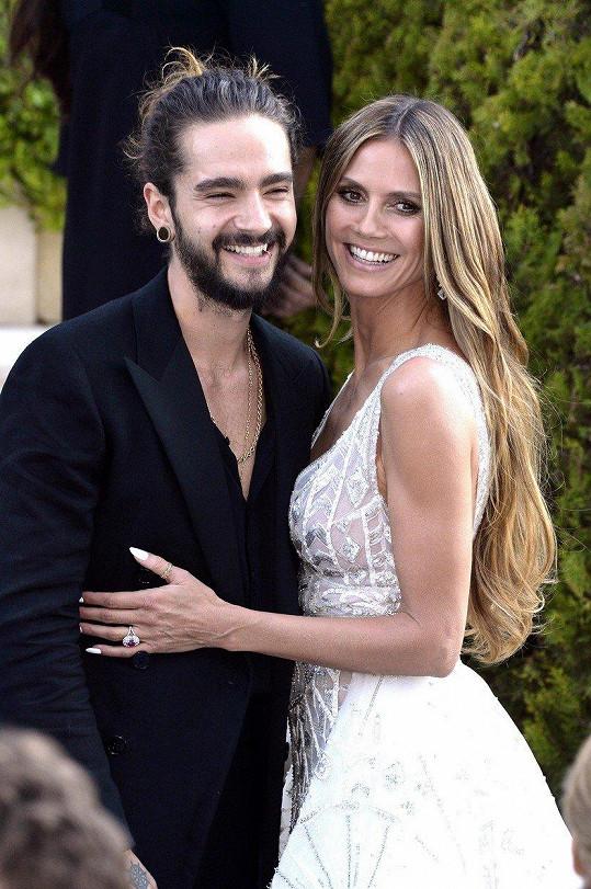 Heidi Klum se provdala za Toma Kaulitze.
