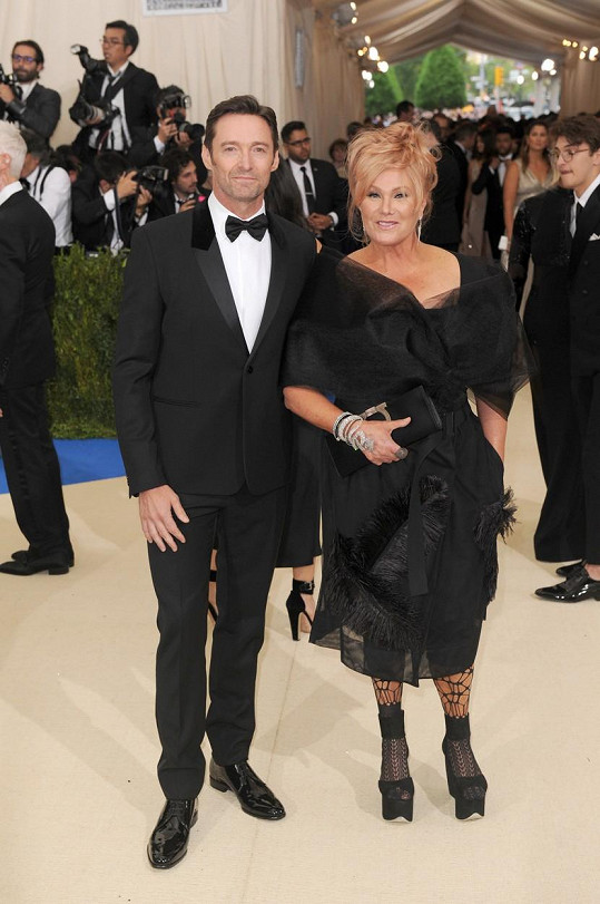 Jackman je ženatý už 21 let.