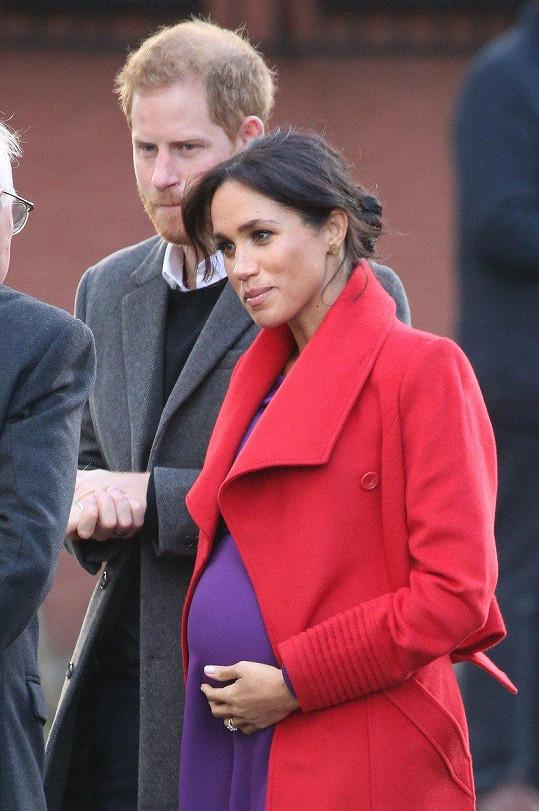 Pohlavím miminka se prý královský pár nechá překvapit.
