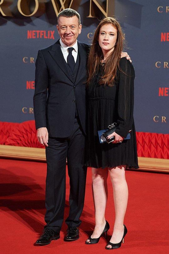 Petera Morgana také doprovodila dcera, osmnáctiletá Gioia.