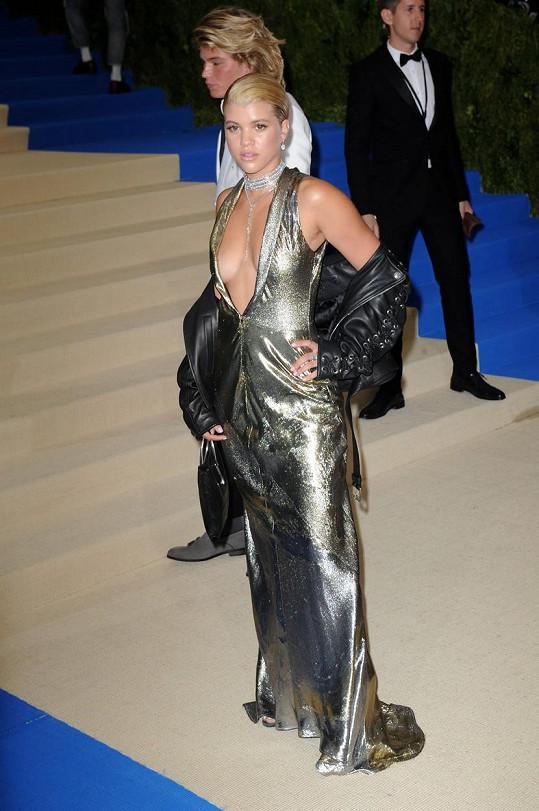 Sofia Richie na Met Gala