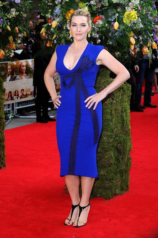 Kate Winslet kašle na diety a o role nemá nouzi.