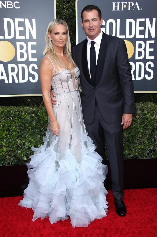 Molly s manželem Scottem Stuberem