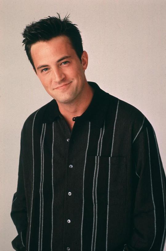 Matthew Perry jako seriálový Chandler