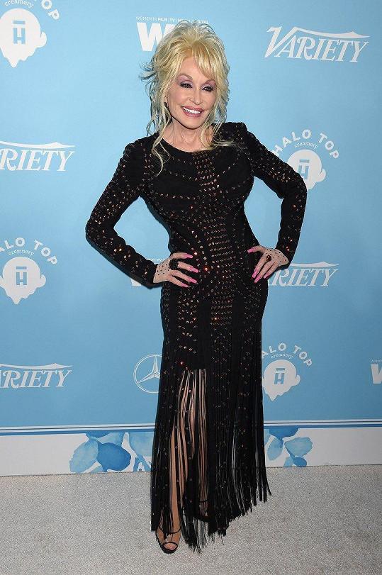 Tohle je skutečná Dolly Parton.