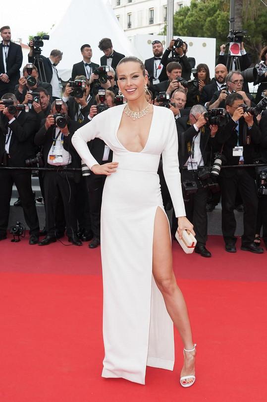 Petra Němcová je na festivalu v Cannes vítaným hostem.