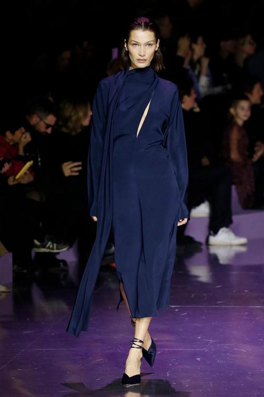 Na přehlídce Hugo Boss v rámci milánského týdne módy