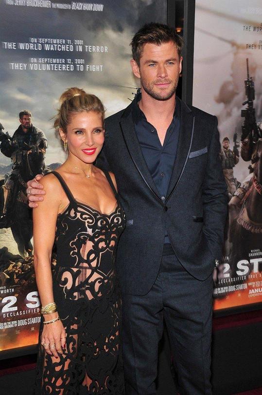 Elsa Pataky a Chris Hemsworth tvoří krásný pár.