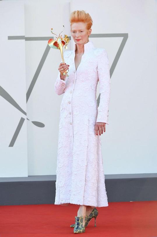 Hlavní hvězdou benátského festivalu je letos Tilda Swinton.