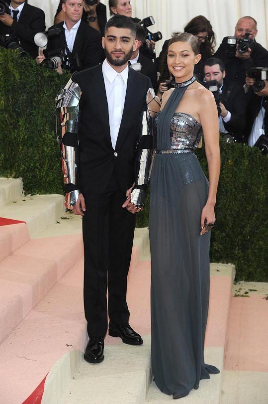 Gigi Hadid s přítelem Zaynem Malikem