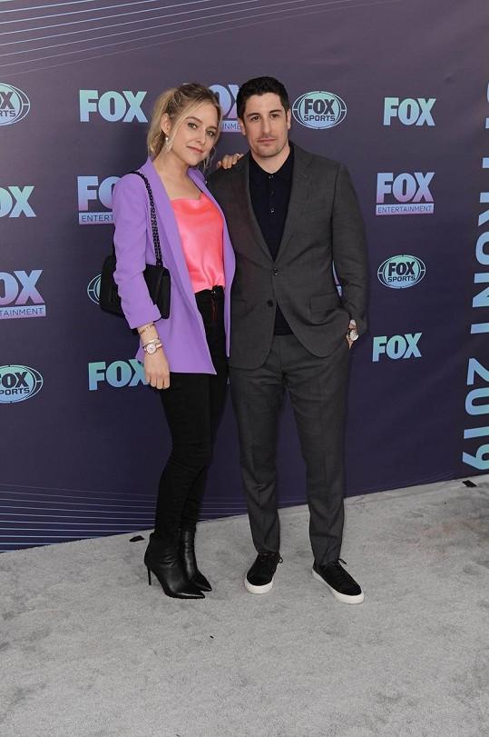 Jason Biggs a jeho žena Jenny Mollen
