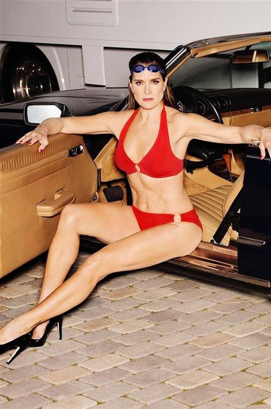 Brooke Shields je po padesátce ve skvělé kondici.