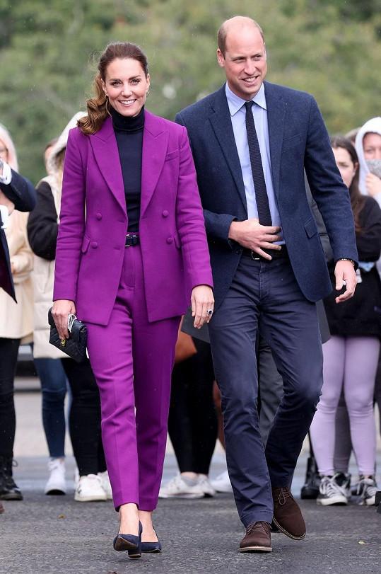 Kate a William vyrazili na návštěvu Severního Irska.