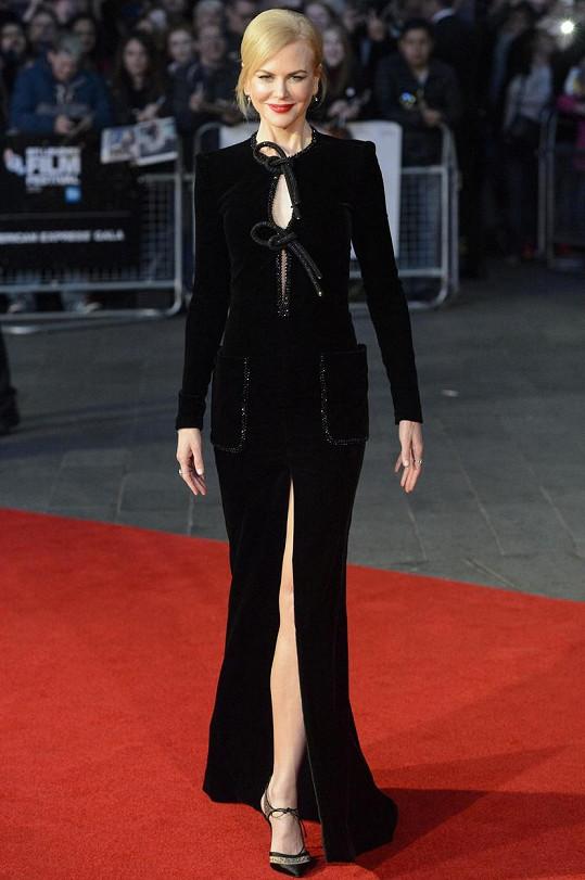 Nicole Kidman v Londýně uvedla film Lion.