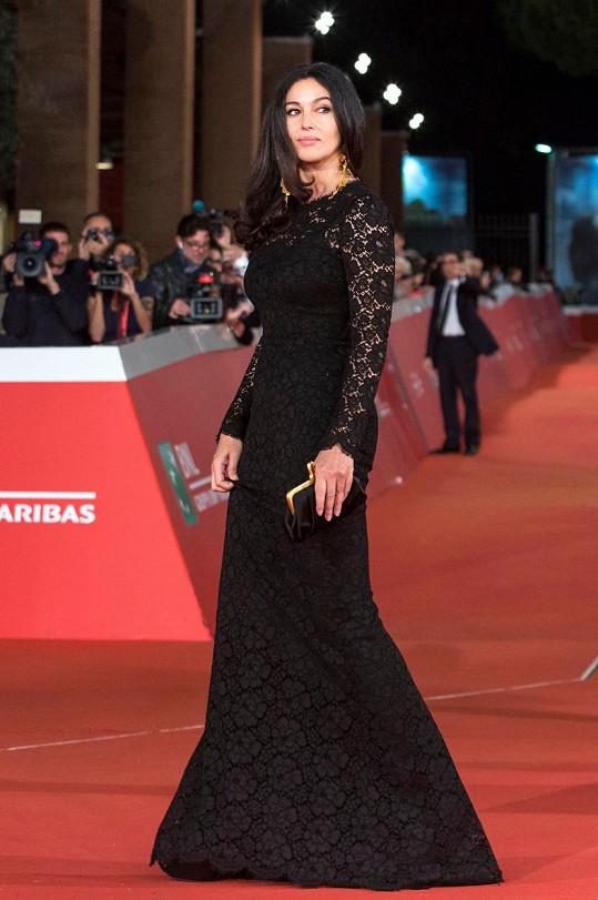 Monica na premiéře své novinky Ville-Marie