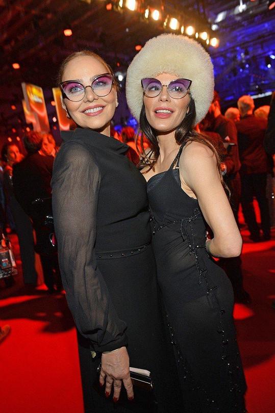 Naike Rivelli s matkou Ornellou Muti