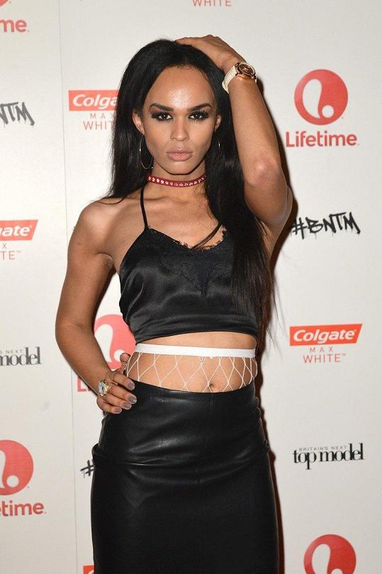 Talulah v době, kdy působila v modelingové reality show.