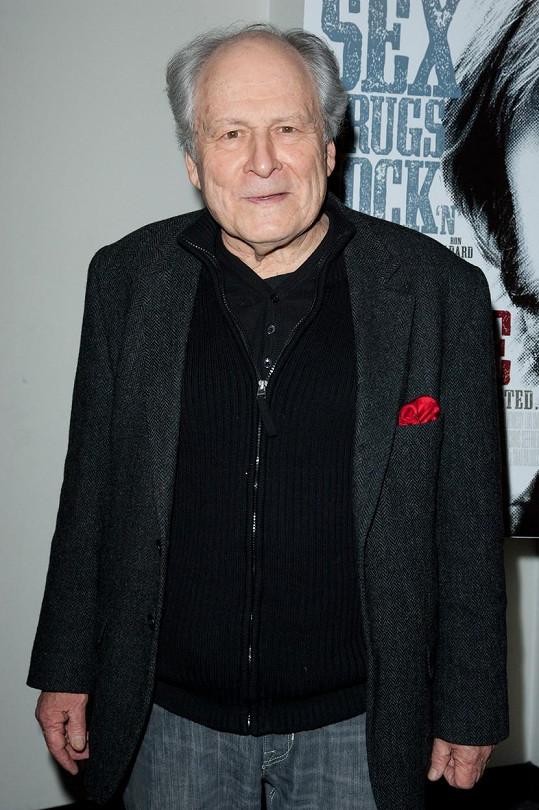 Herec podlehl nemoci v 78 letech.