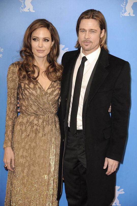 Angelina Jolie s Bradem Pittem