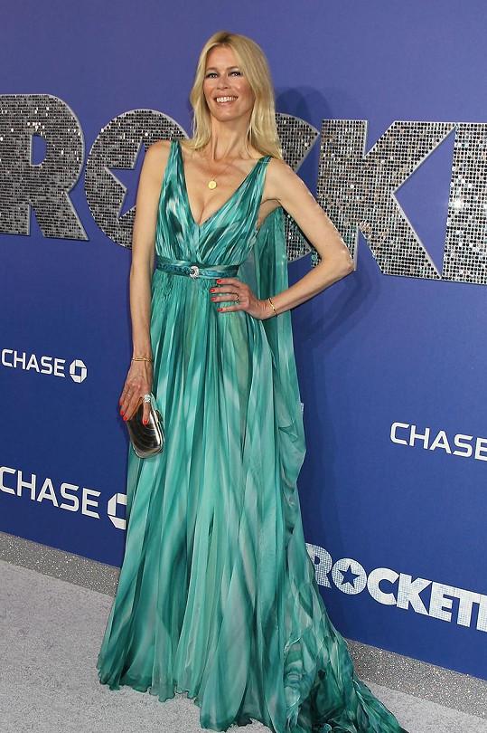 Claudia Schiffer je ikonou světového modelingu.