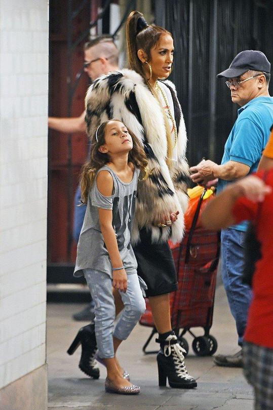 Jennifer Lopez s dcerkou Emme