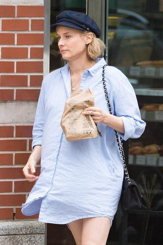 Diane Kruger se těší na první miminko.