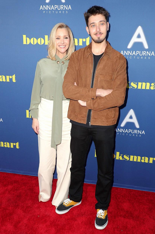 Lisa Kudrow se synem Julianem, který letos oslavil 23. narozeniny.