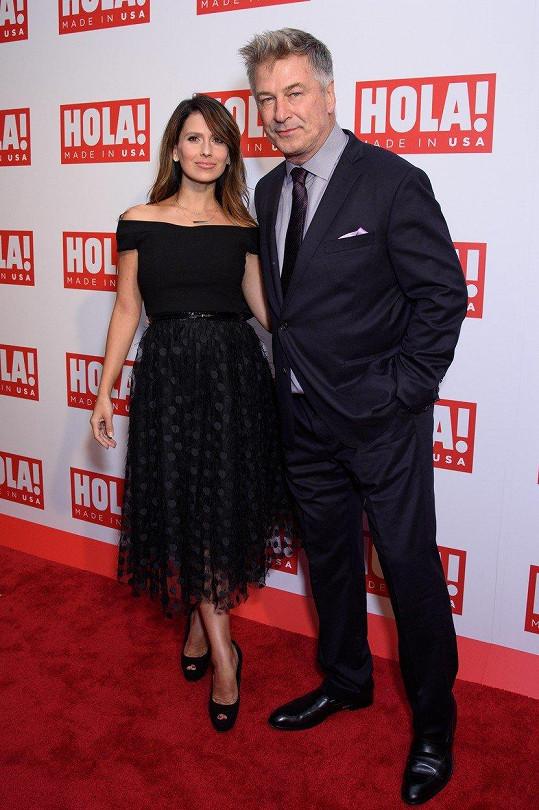 Herec Alec Baldwin má mimořádně šikovnou ženu.