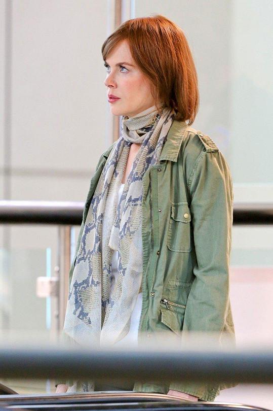 Krátké a zrzavé vlasy jí filmaři vybrali pro roli ve filmu Zvláštní příběh rodiny F.