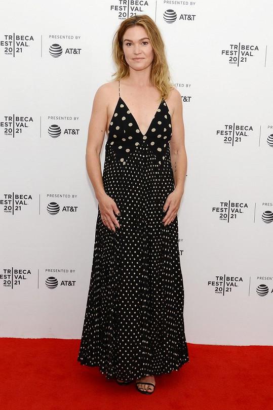 Julia Stiles uváděla na festivalu Tribeca svůj nový film.