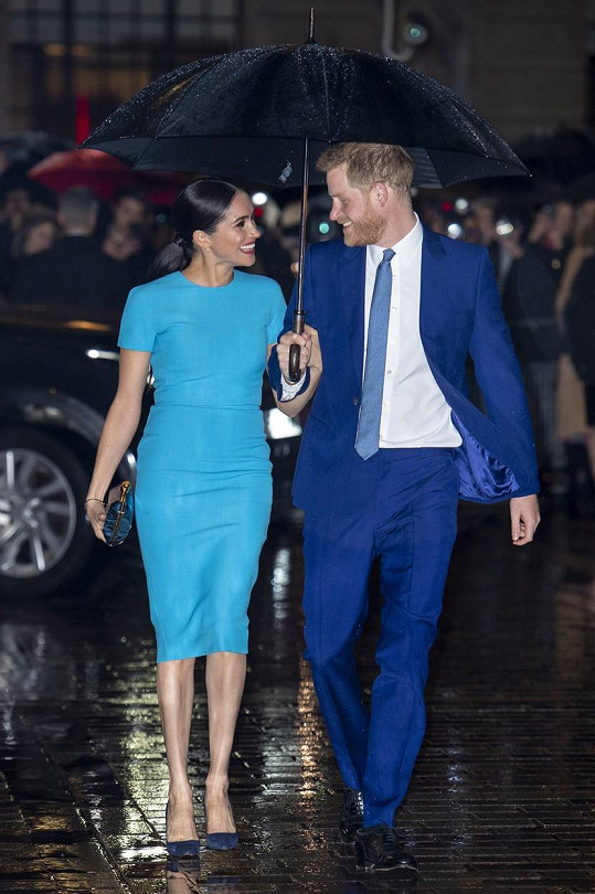 Manželé se zúčastnili akce Endeavour Fund Awards.