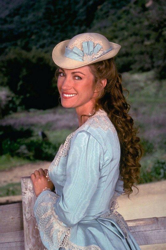 Jane Seymour ve své slavné roli doktorky Quinnové