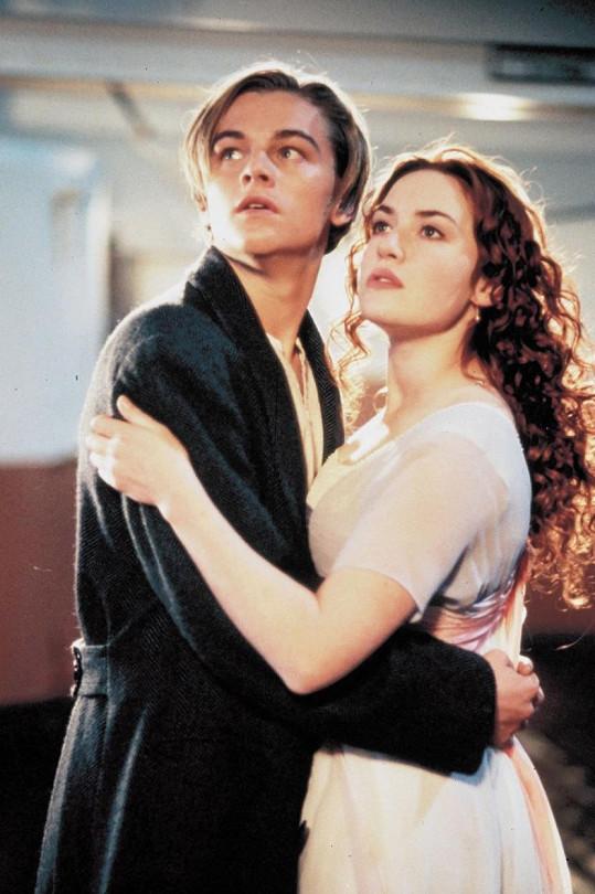 Leonardo a Kate si spolu zahráli v Titaniku.
