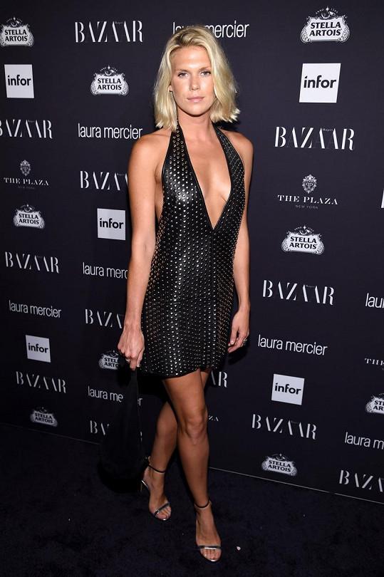 Alexandra Richards na newyorském večírku