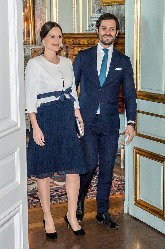 Sofia a Carl Philip se dočkali prvního potomka.