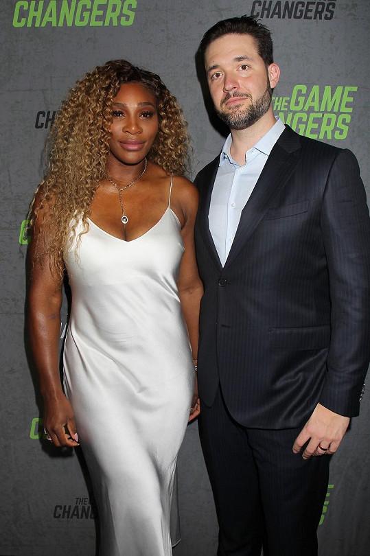 Seznámení Sereny Williams a Alexise Ohaniana proběhlo díky krysám.