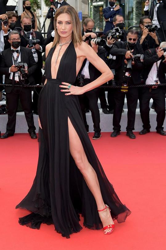 Španělská modelka Nieves Álvarez